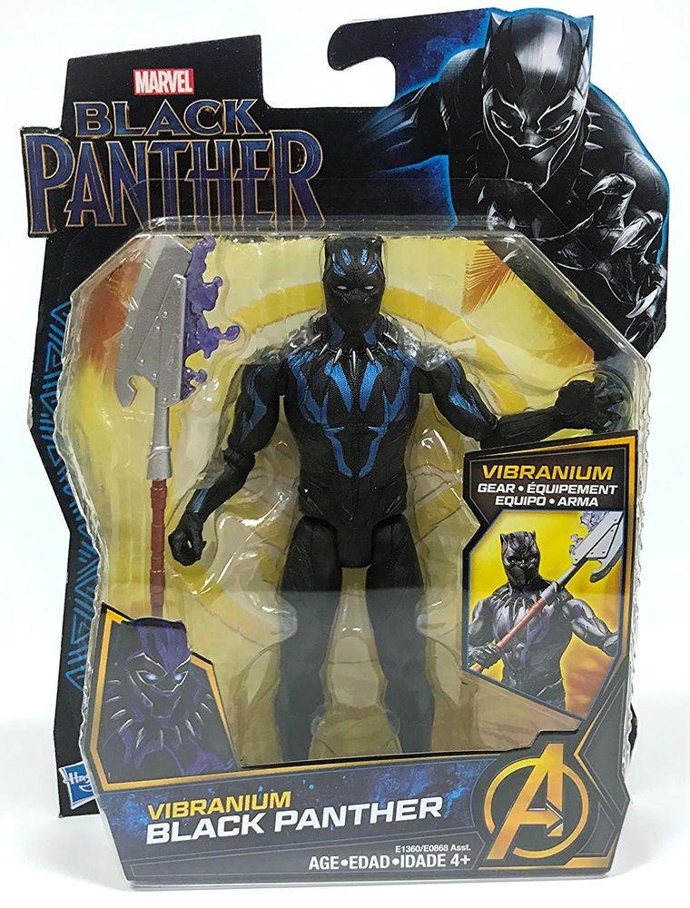 Marvel Black Panther Vibranium Gear Action Figure Hasbro