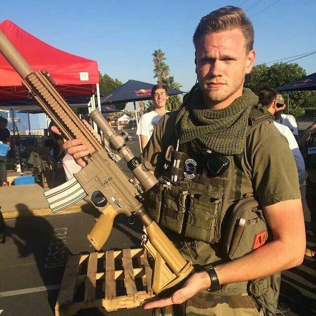 Evike Matt and his M27 | Airsoft | Airsoft guns, Guns, Airsoft