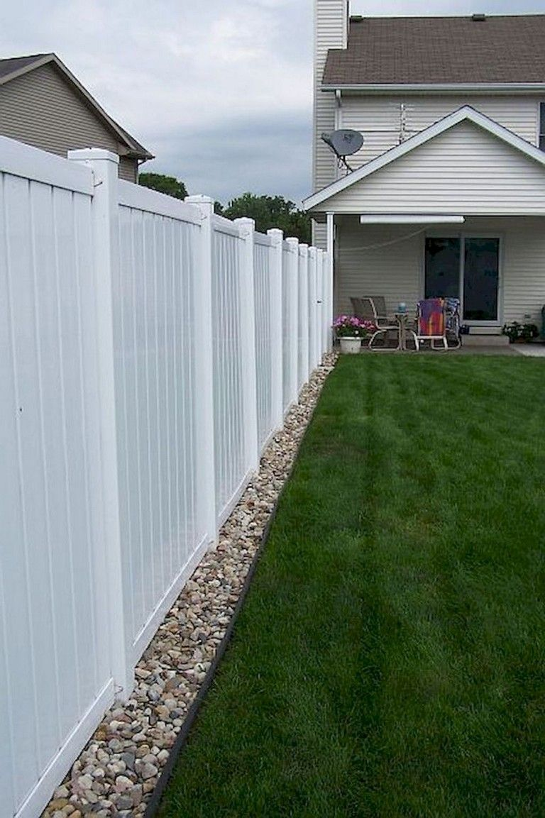 simple diy backyard privacy fence design ideas Усадьба