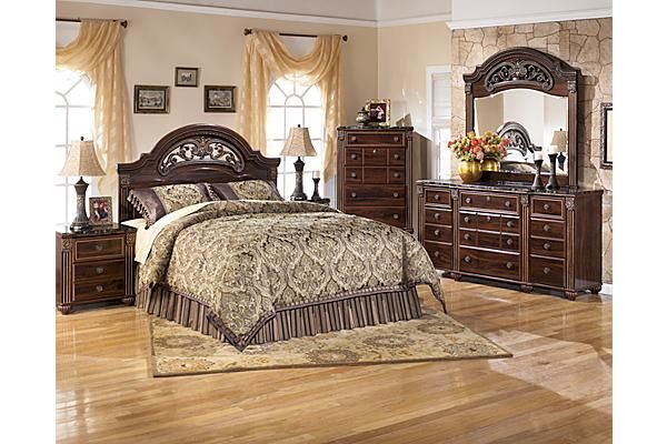 The Gabriela Panel Bedroom Set From Ashley Furniture