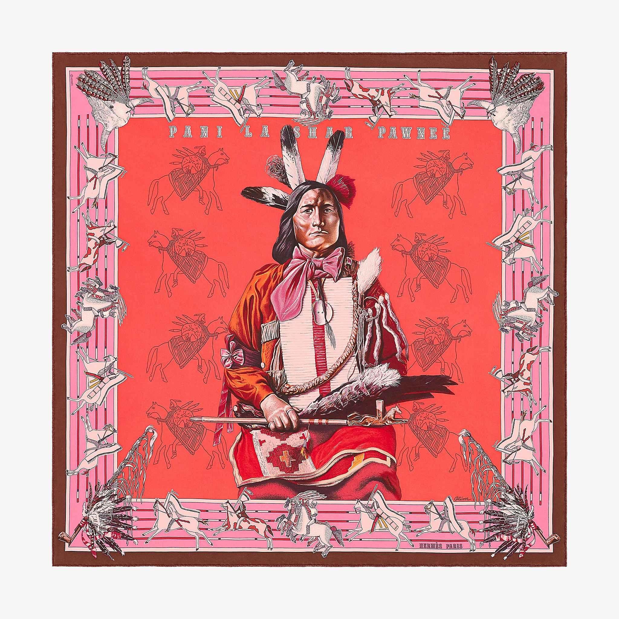 991a7292724c Carré wash 90 Pani La Shar Pawnee   Hermes scarf   Pinterest ...
