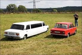 Regular sedan & stretched limousine side by side.  For more information about our company, please visit out website: www.afalimo.com