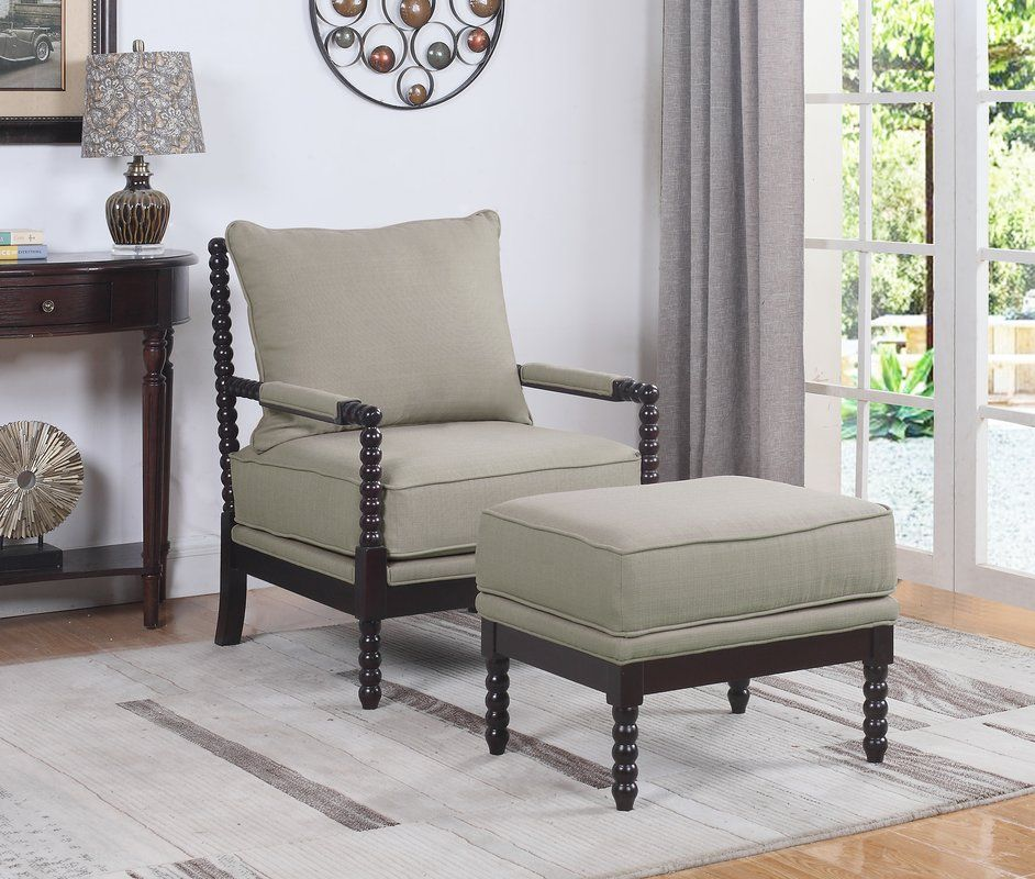 JeNae Armchair and Ottoman JeNae Armchair and