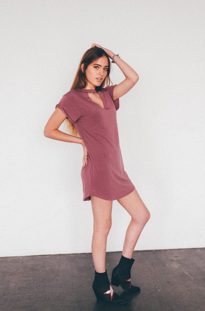 8f34e6530c Olivia T-shirt Dress in 2018