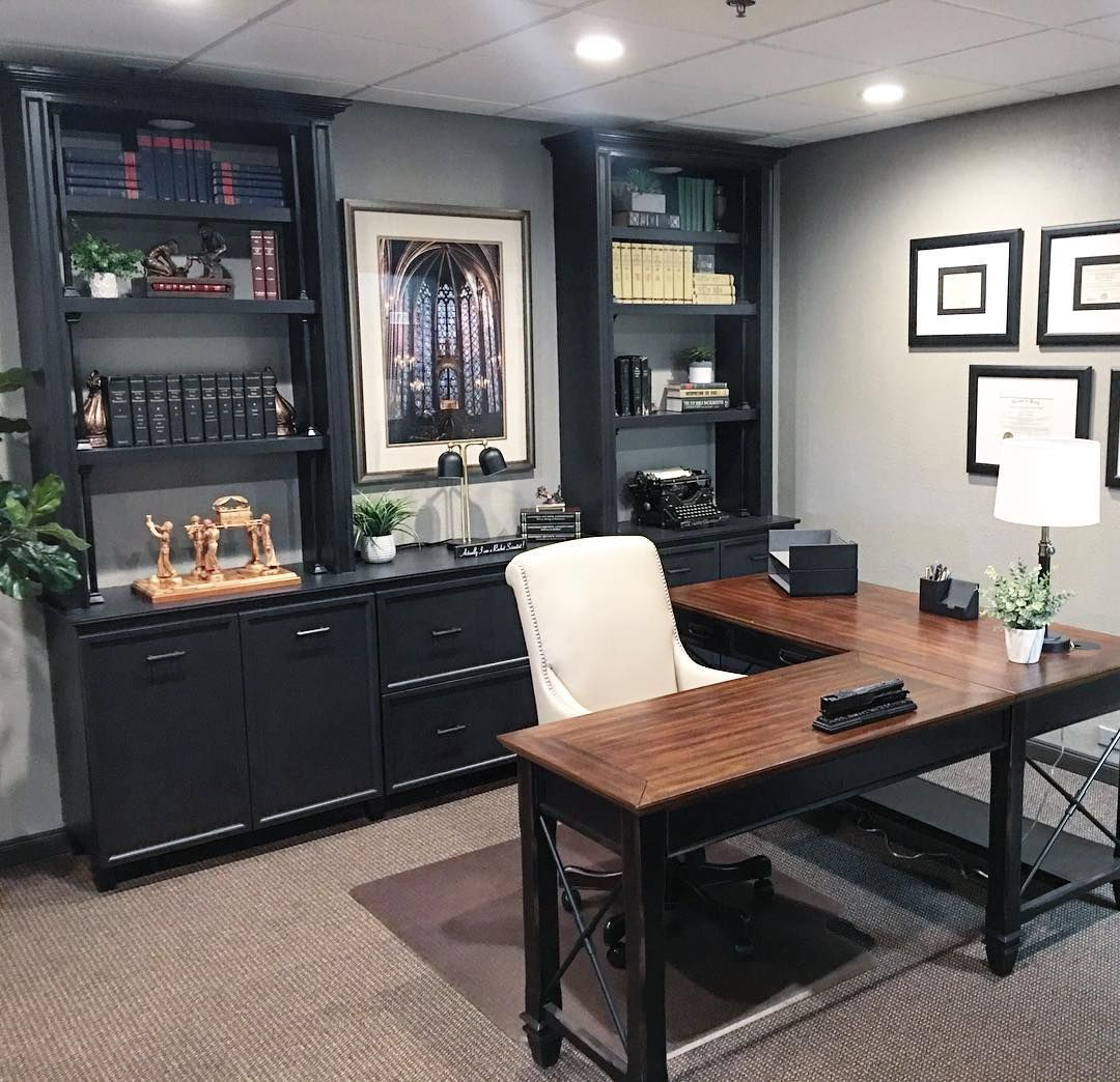 The Hartford Open L Shaped Desk Is A Perfect Fit For This Stylish