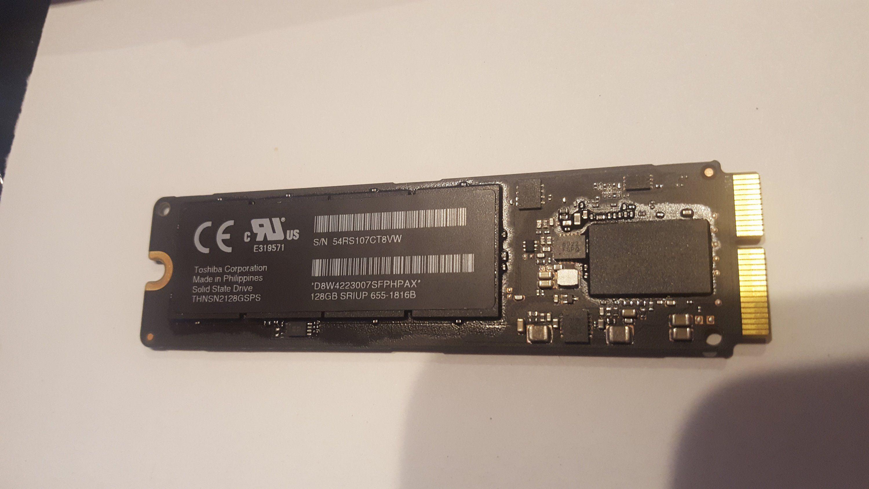 Macbook Air 11 Macbook Air 13 2013 2014 128gb Flash Storage Drive Pcie Ssd Toshiba Thnsn2128gsps 655 1816b By Iknowrep Macbook Air Macbook Macbook Air 11