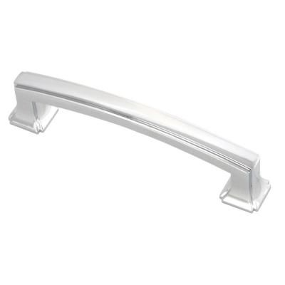 hickory hardware bridges 96 mm chrome pull bathroom remodel rh pinterest com