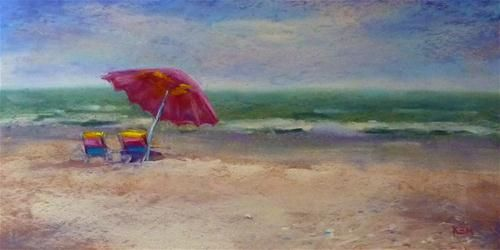 A Beautiful Place To Paint Sanibel Island Original Fine Art