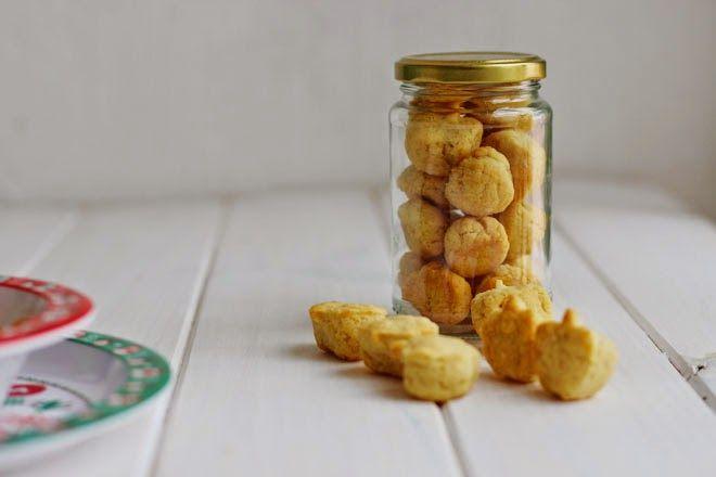 Galletas queso parmesano
