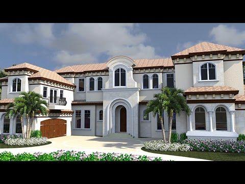 Florida Mediterranean House Plan 71528