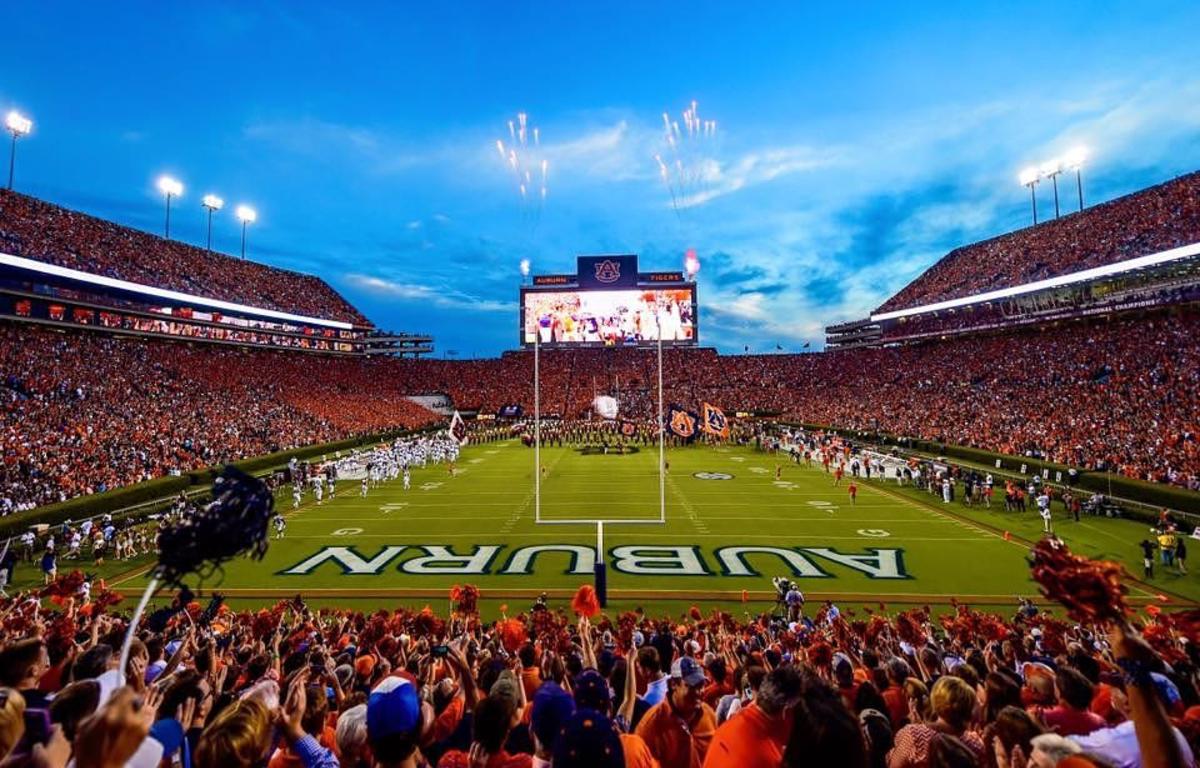Jordan Hare Stadium Auburn University Auburn Football Auburn