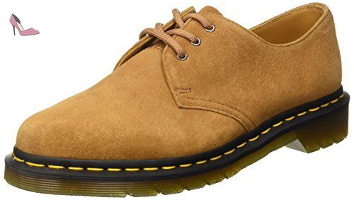 Dr.Martens Womens Lorrie II Virginia Brown Leather Shoes 37 EU OkUjA