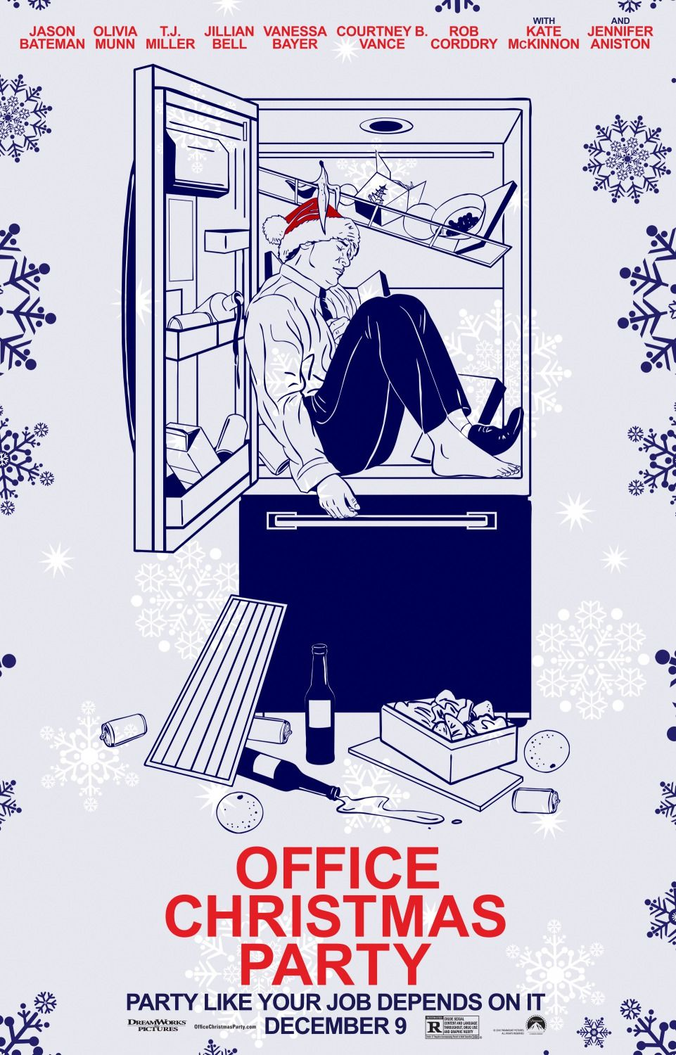 Office Christmas Party (2016) | Posters | Films (official) in 2018 ...