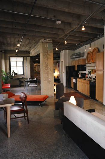 the davis building loft living in dallas inspiring ideas loft rh pinterest com building a house inside a warehouse building a house inside a shop