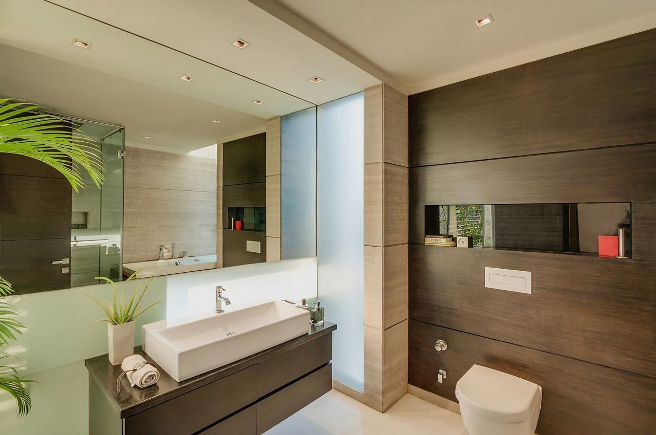 modern house interiors%0A Bathroom of the Asian dream home