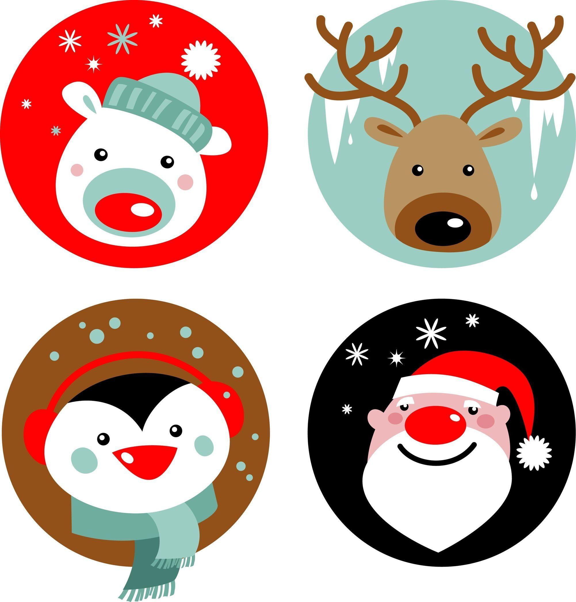 Christmas Dibujos De Navidad Para Imprimir Tarjetas De Navidad Para Imprimir Etiquetas Navideñas