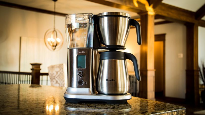 Breville precision brewer thermal coffee store coffee