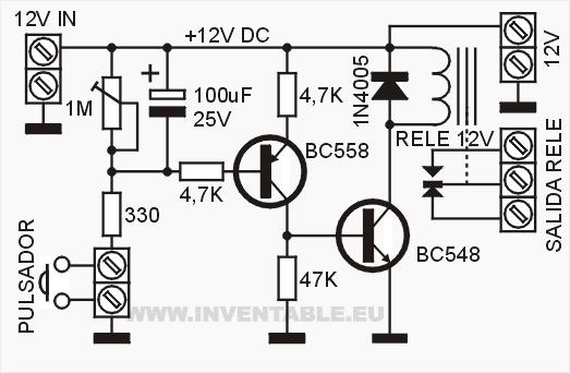 Circuito Eletronica : Circuito eletronico temporizador algo y mas