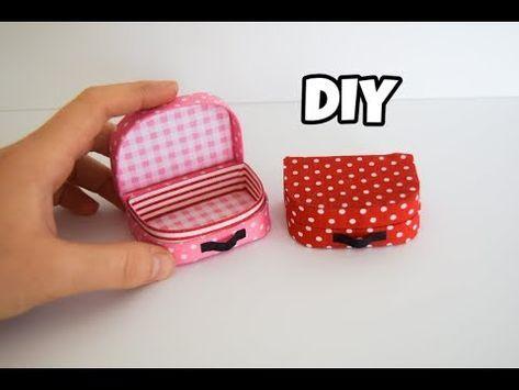 Mini Bavul Yapımı | Kendin Yap Barbie Çanta Yapımı - YouTube #barbie