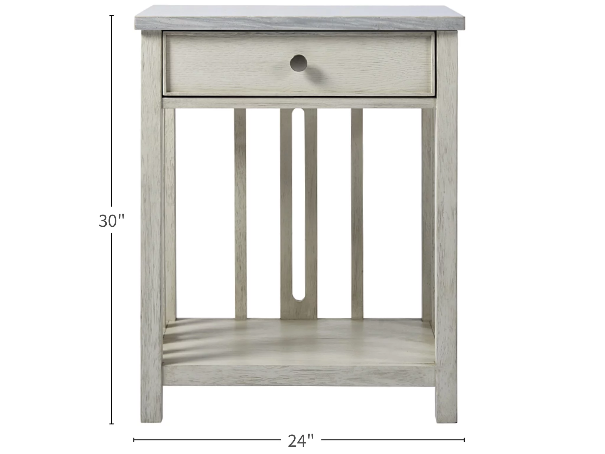 Universal Furniture Escape Coastal Living Home Collection Bedside Table With Stone Top Home Collections Bedside Table Universal Furniture
