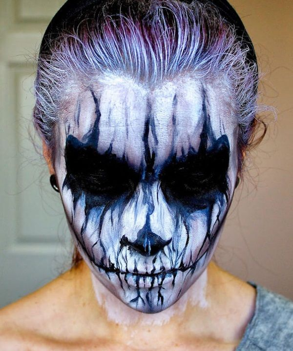 Nice 60+ Best Halloween Makeup Ideas For Men Check more at   - scary halloween costume ideas 2016
