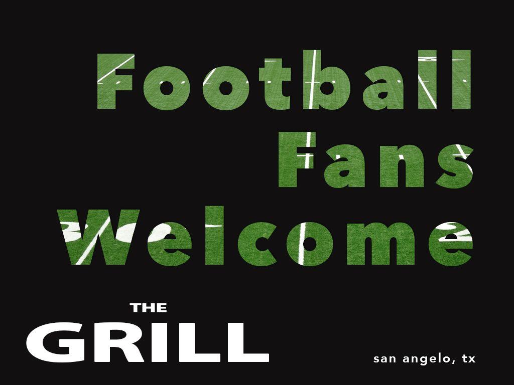 Football at The Grill! Football
