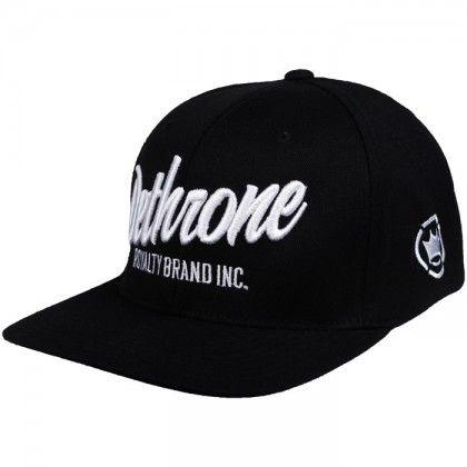 b614c139bc9 Dethrone Brand Inc. Flextfit Hat Black