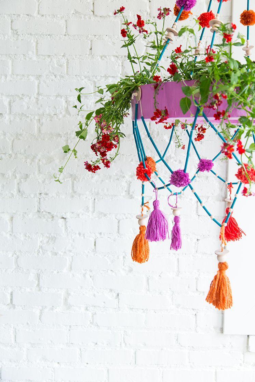 Diy polish chandelier planter spring tutorial chandelier planter