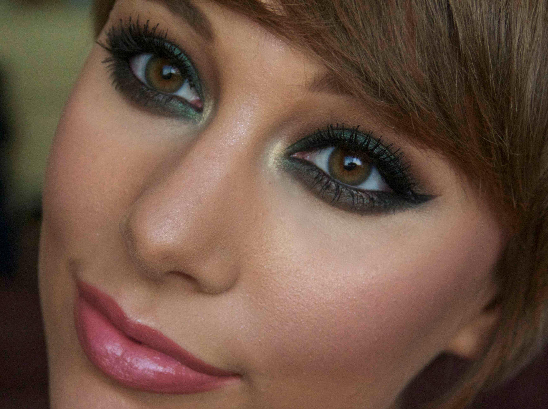 Forest green smokey eye makeup tutorial beauty vids 3 smoky forest green smokey eye makeup tutorial baditri Images