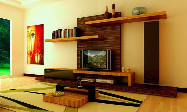 interior design ideas tv unit photo - 5 | interior | Tv unit ...