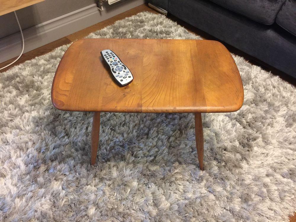 Vintage Ercol Windsor Coffee Table Blonde in Home, Furniture & DIY, Furniture, Tables | eBay