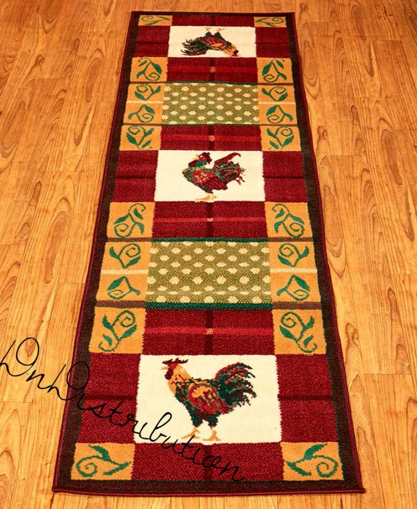 Pin By Jackie Minne On Table Runners Rooster Rugs Rug