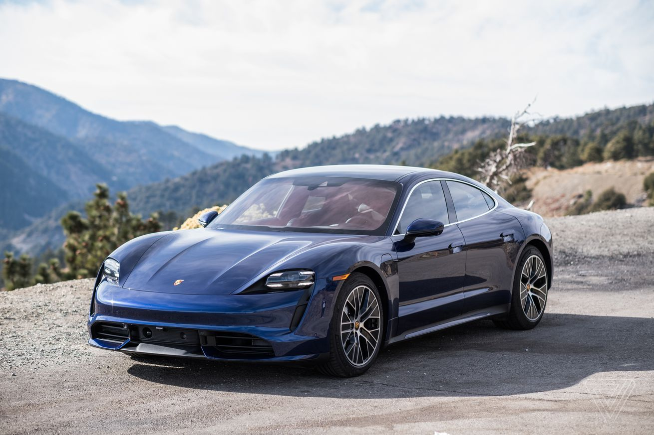 Driving the Taycan, Porsche's first electric car (With