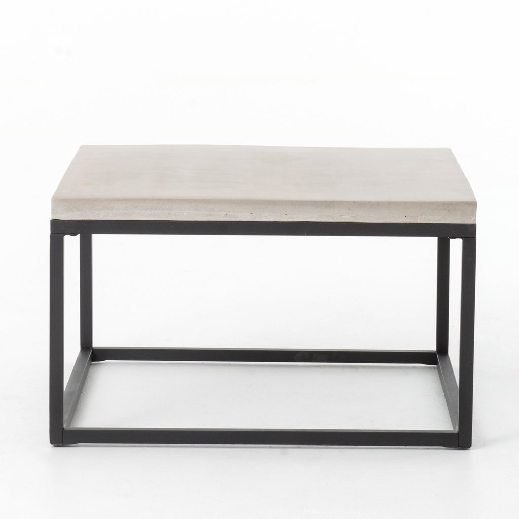 Maximus Square Coffee Table In Natural Concrete Coffee Table Square Coffee Table Outdoor Coffee Tables