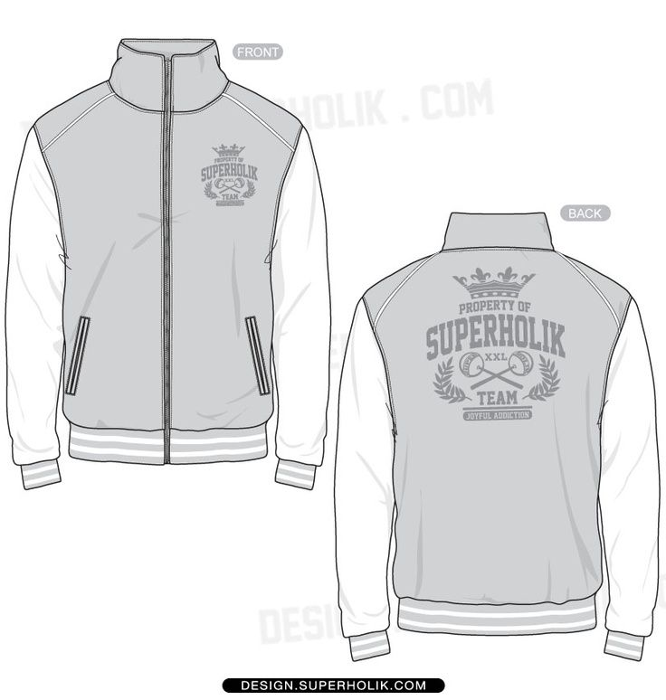 varsity jacket women technical drawing cerca con google