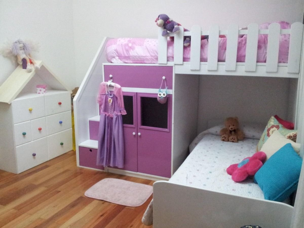 camas infantiles doble en mercadolibre