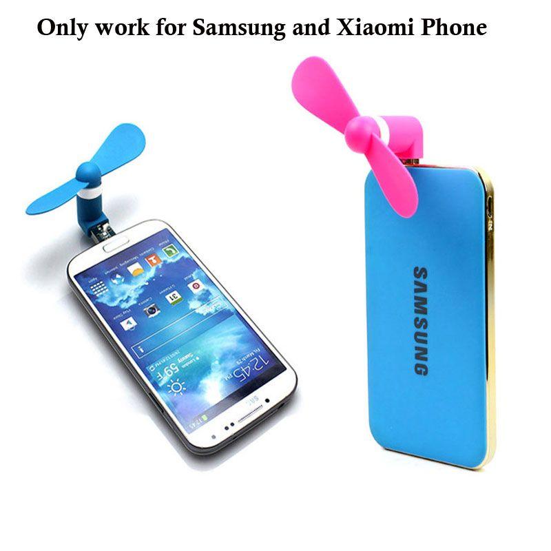 Smartphone 5pin Mini Fan Portabel Super Usb Cooler Cooling Mini