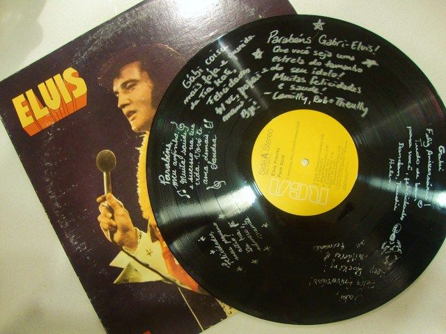 Guest book at an Elvis party #elvis #guestbook