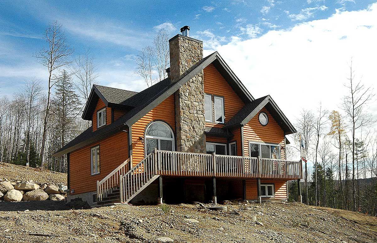 Plan 21091DR Four Seasons Cottage Lake House