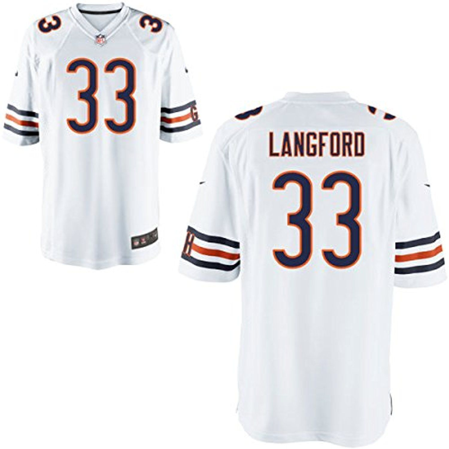 ... 33 Charles Tillman Elite White Jersey nike nfl jersey Mens Nike NFL Chicago  Bears 99 Mcmclellin Elite white jersey on sale nfl ... ece96def1