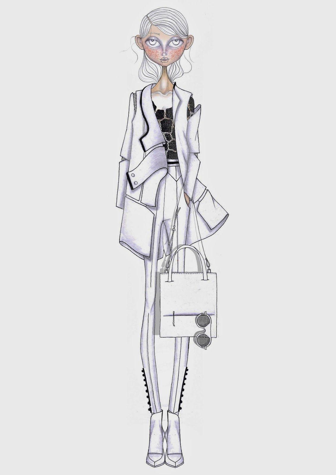 Blog | Cool and Cheap | ilustración moda | Pinterest | Figurin ...