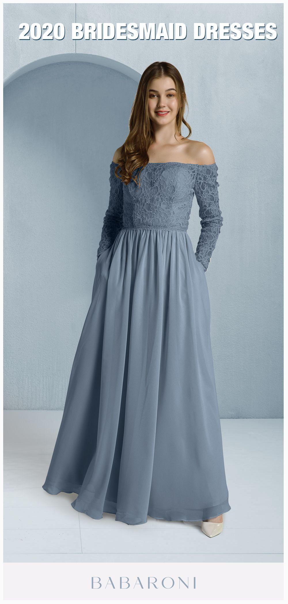 Babaroni Meilani Chiffon Dress Long Long Sleeve Chiffon Dress Long Sleeve Lace Dress [ 2100 x 1000 Pixel ]
