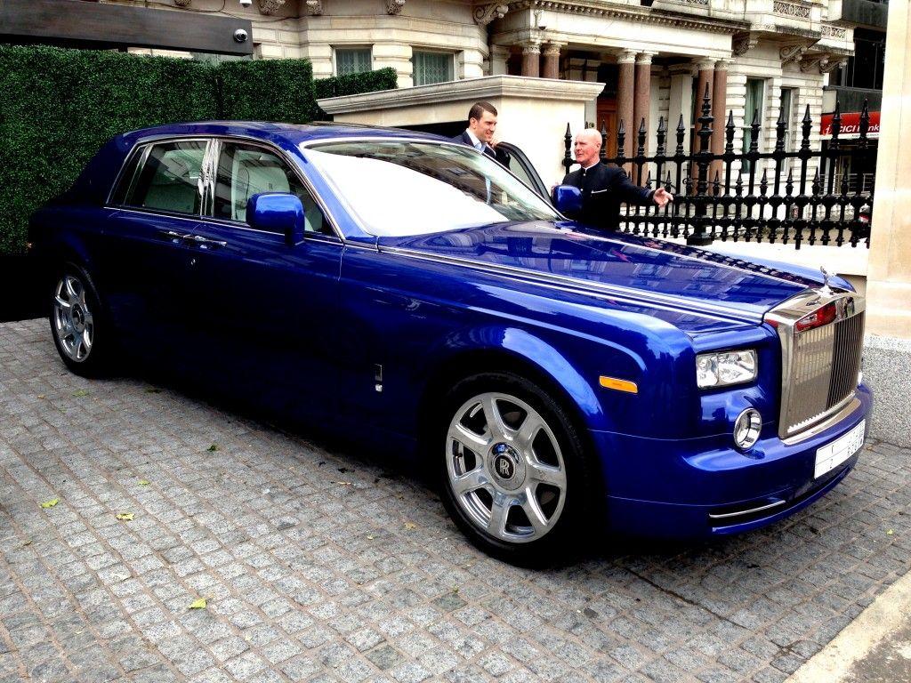 Rolls Royce Phantom Best Luxury Cars: Deep Royal Blue Rolls Royce Phantom