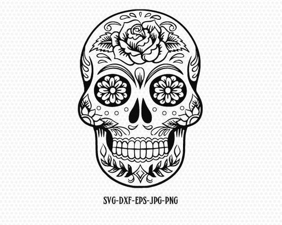 sugar skull svg candy