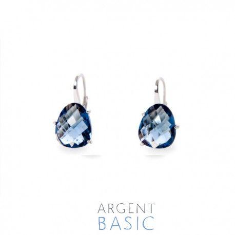 71afa66b6 Pendientes de plata y piedra azul navy.   Jewelry en 2019 ...