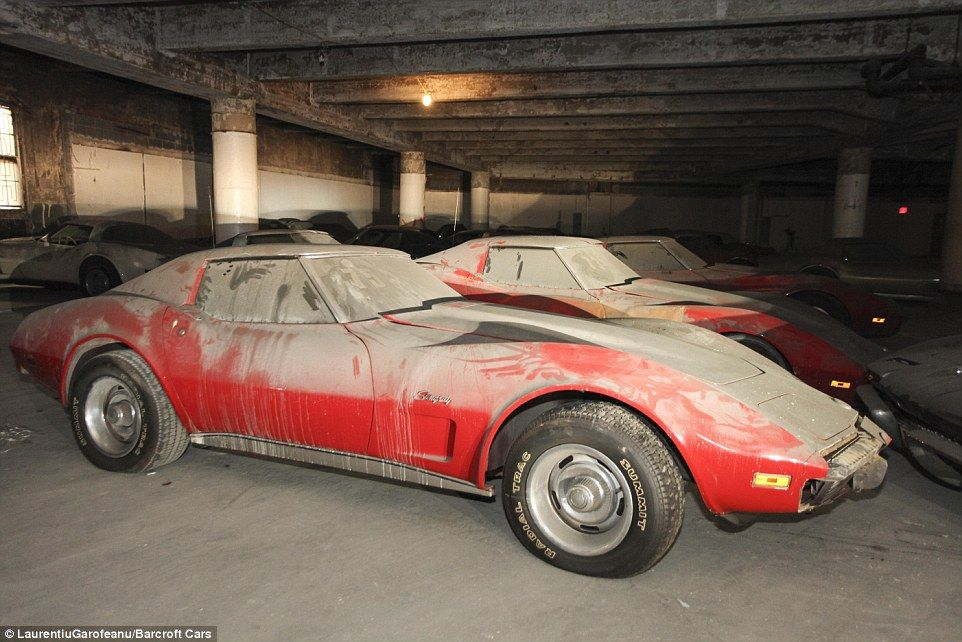 Restoration begins on THIRTY-SIX Corvettes found collecting dust ...