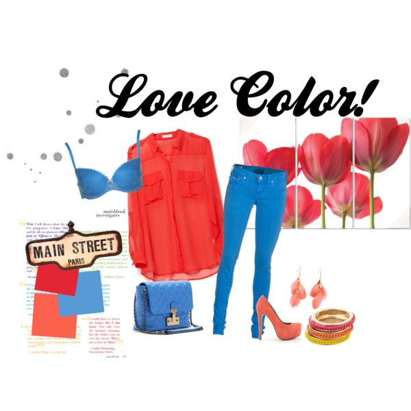 Love Color!, created by caritomabe on Polyvore