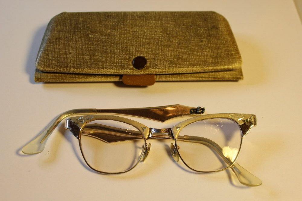Vintage 1950's Cats Eye Eyeglasses by Imperial of Miami