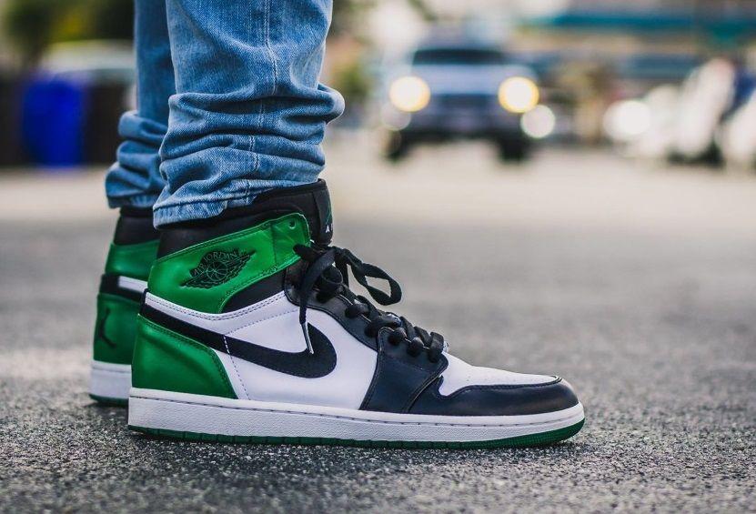 new concept 3ed1f a6395 Nike Air Jordan 1  Celtics