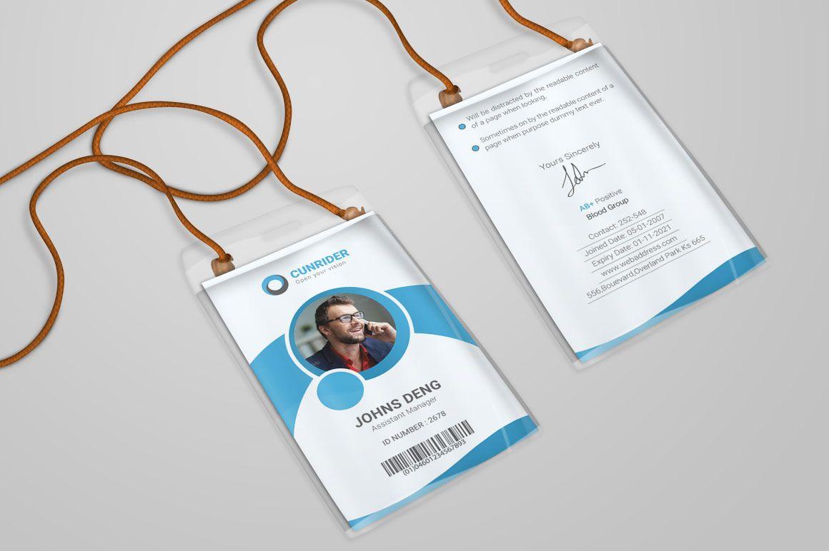 id card templates PSD branding identity mockups | Best Stationery ...